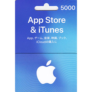 AppStore & iTunes ギフトカード 5,000円分